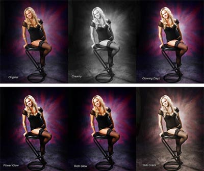 46 Glow & Edge Photoshop Actions