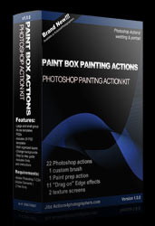 photoshop painting actions