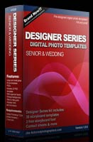 30 Designer series senior templates