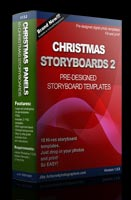 10 Christmas storyboards set 2