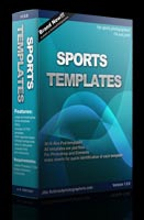 Templates for sport team photographers