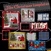 Christmas Cards and Template sets