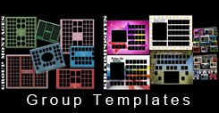 Class group composite templates